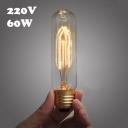 E27 60W 220V  T10 Edison Bulb