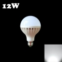 6000K E27 12W Sound & Light Controlled  LED Bulb
