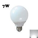 7W 30Leds E27  Cool White Ligh LED Globe Bulb