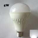 5W E27 220V  180° Cool White Lighted LED Globe Bulb
