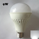 LED Globe Bulb 180° 220V E27 9W  Cool White Lighted