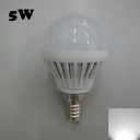 E14 5W SMD2835 180° PC 220V Cool White LED Globe Bulb