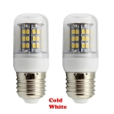 E27 48-SMD 2835 2 Packs 220V Cool White LED Corn Bulb
