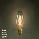 Candle C35 220V  E14 40W Edison Bulb