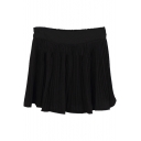 Fresh Style Pleated High Waist Skirt