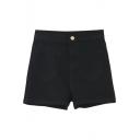 Light High Waist Loose Hot Denim Shorts