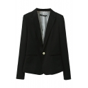 MultiColor Single-Breast Pockets Split Back Blazer