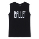Ballet Print Cotton Tanks