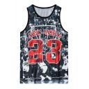 New York 23 Character Print Tanks