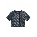 Vintage Fresh Flora Crop Lace T-Shirt