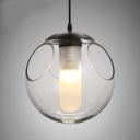 Modern Glass Mini Pendant Perfect for Dining Room