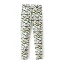 Camouflage Print Zip Fly Low Waist Pants