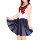 Cartoon Cosplay Tank Skater Dress
