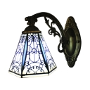 Lodge Style Single Light Mini Wall Sconce