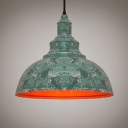 Rust LOFT Dome LED Pendant Light