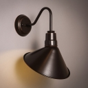 Angle Shade Wall Sconce in Industrial Style