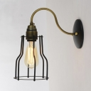 Antique Brass 1 Light LED Wall Sconce