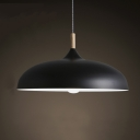 Northern Style Lighting Black LED Pendant Light Ceiling Light Fixtures
