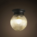 Traditional / Classic 1 Light Down Lighting LED Flushmount Ceiling Fixture