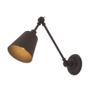 English Bronze 1 Light Adjustable LED Wall Sconce