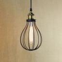 6 1/4'' Wide Matte Black 1 Light LED Mini Pendant Light