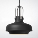 9'' Wide Designer LED Pendant in Industrial Style