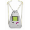 Girl's Game Controler Drawstring Backpack