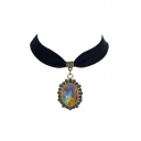 Metal Vintage Galaxy Women's Necklaces