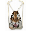 Tiger Roaring Face Weekend Bag Backpack