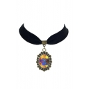 Gothic Vintage Galaxy Metal Women's Necklaces