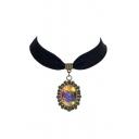 Gothic Vintage Galaxy Metal Women's Necklaces