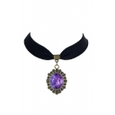 Elegant Gothic Galaxy Metal Women's Necklaces