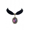 Elegant Galaxy Metal Women's Necklaces