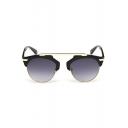 Hot Fashion Alloy Steampunk Mirrored Panel Radiation Protection Hiking Sunglasses(Free Glasses Box)