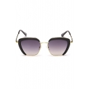 Hot  Women's Vintage-Pattern Alloy Sunglasses(Free Glasses Box)