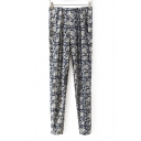 Tribal Print Relaxed Fit Pocket Pull-on Pant