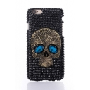 Cool Luxury Bling 3D Skull Crystal Rhinestone Design Case for iPhone