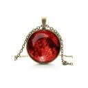 New Fashion Lady's Alloy Gemstone Galaxy Necklaces