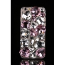 Bling Luxury Sweethearts Rhinestone Design Soft Case For iPhone