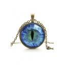 Metal Galaxy Cat Eye Women's Necklaces