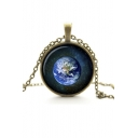 Chic Vintage Metal Galaxy Women's Necklaces