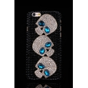 Cool Luxury Skull 3D Rhinestone Design Black Case for iPhone