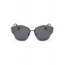 Hot Punk Style Lady's Steampunk Mirrored Panel Radiation Protection Hiking Sunglasses(Free Glasses Box)