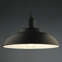 Elegant Matte Black 1 Light Indoor LED Pendant