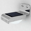Aluminum 16 LED Solar Step Light with Light Sensor