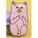 For iPhone 4s/5/5s/6/6s/6 Plus/6s Plus Pocket Cat Silicone Rubber Cell Phone Cases Covers