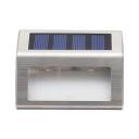 Stainless Steel 2 LED Solar Step Light