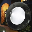 Aluminum Alloy Stainless Steel Tempered Glass Solar Ground Light with 2 LED