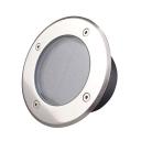 Aluminum Alloy Tempered Glass 2 LED Solar Ground Light