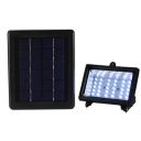 Cool White Light 30 LEDs Solar Power Bright Garden Outdoor Flood Light
